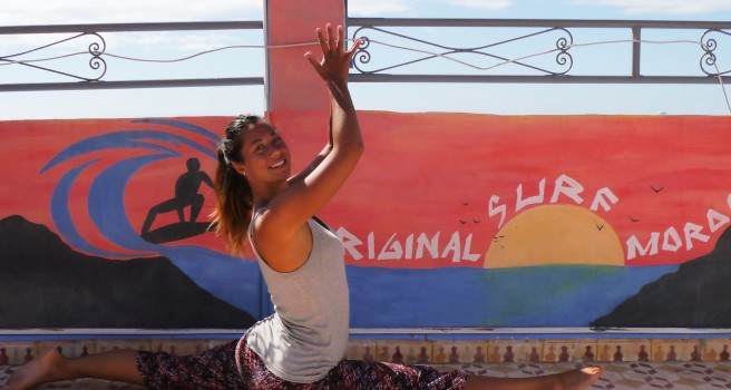 surf and yoga in Morocco