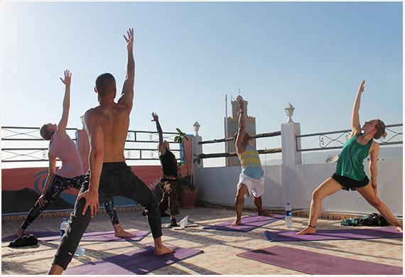 Surf yoga holiday morocco