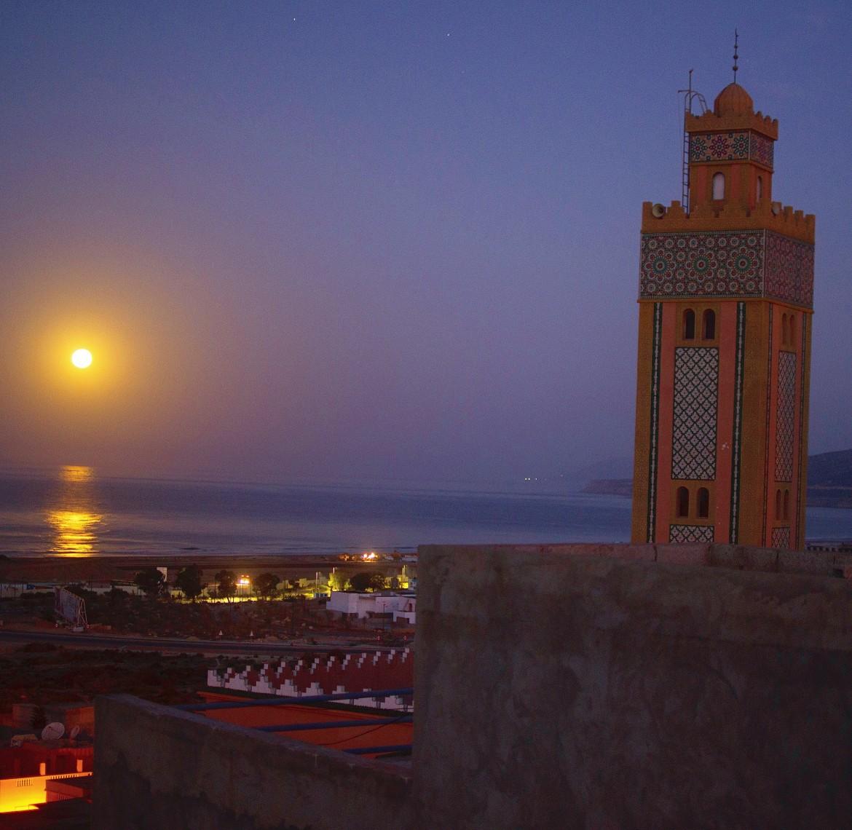 Moonrise at Original Surf Morocco