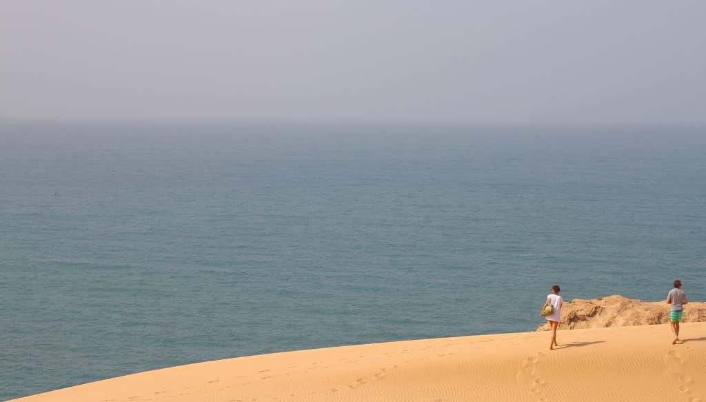 surfing sand dunes