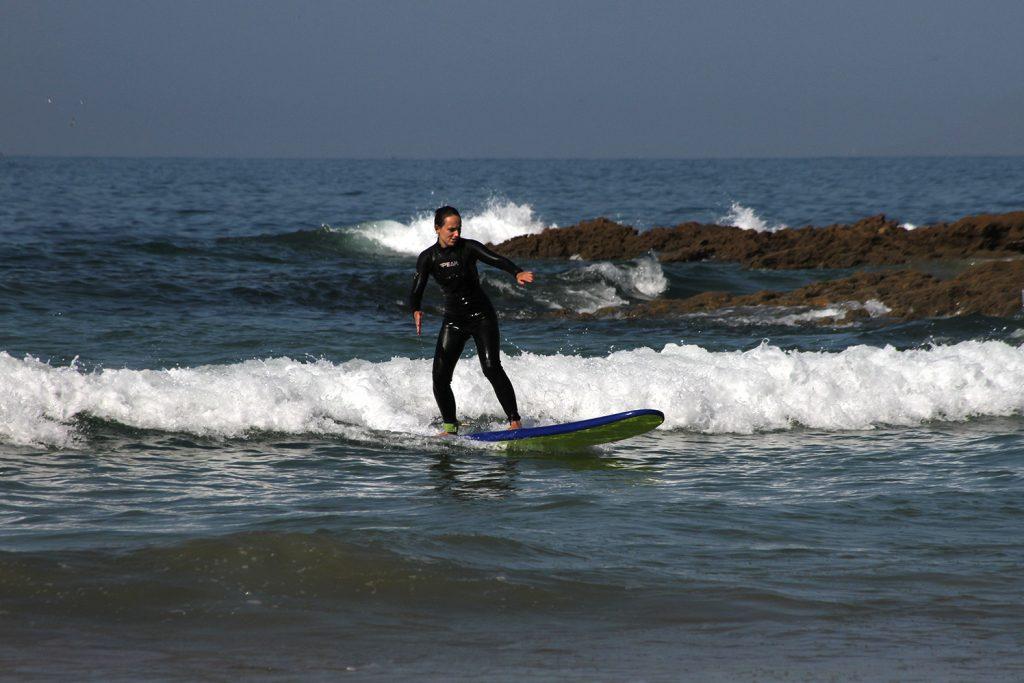 Anza surf spot in Morocco