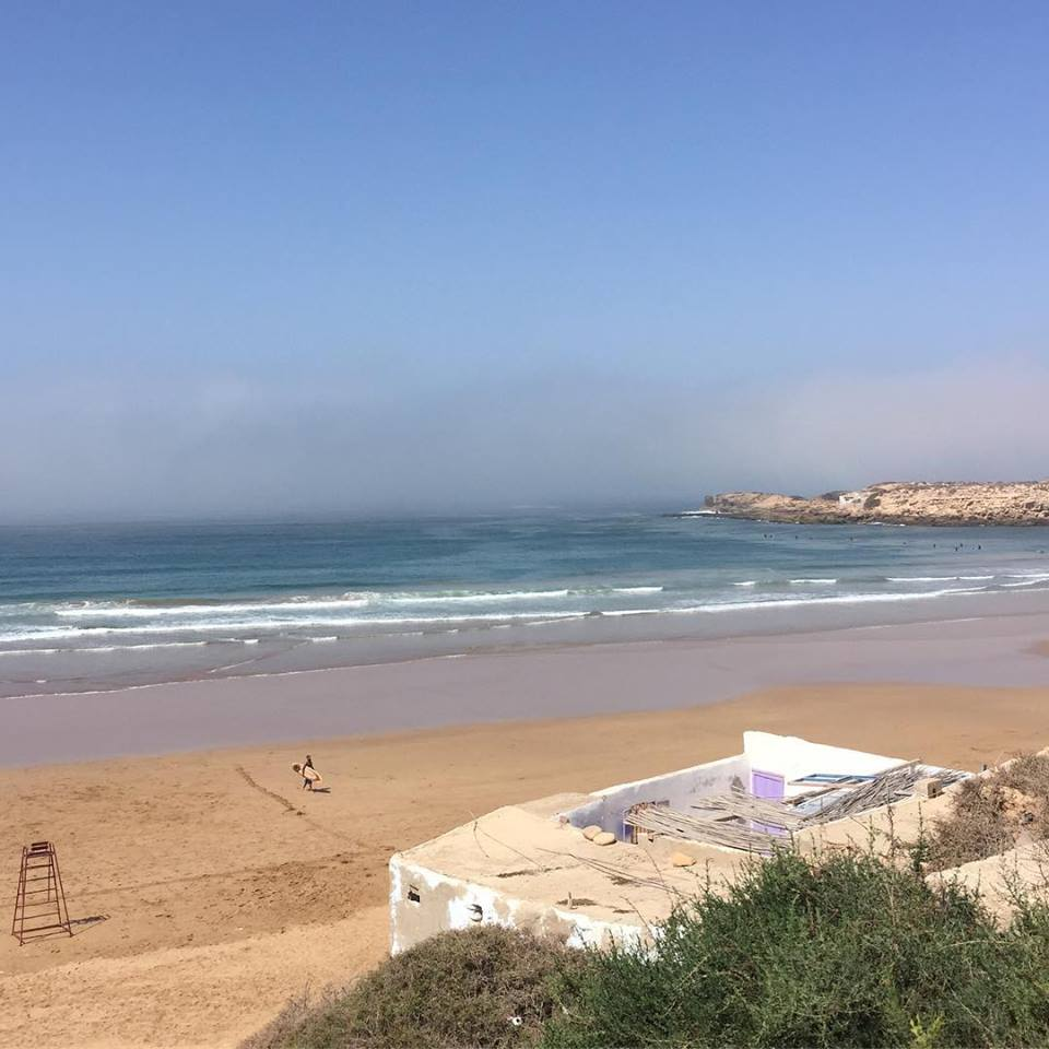 Cathedral imsouane surf spot in Morocco