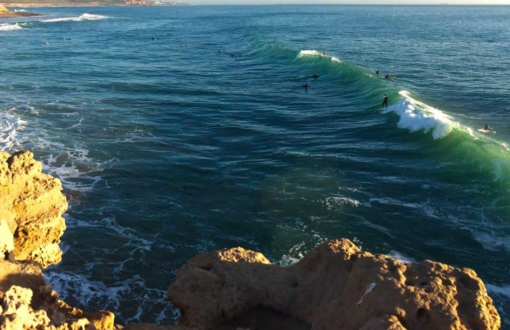 Devil's Rock surf spot in Morocco