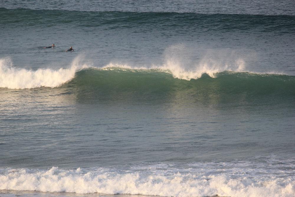 Km 12 surf spot in Morocco