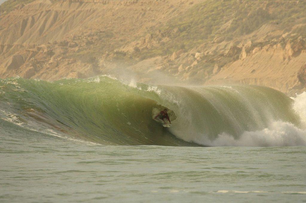 Safi surf spot in Morocco