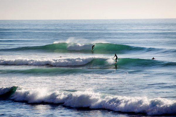 sidi kaouki surf spot in Morocco