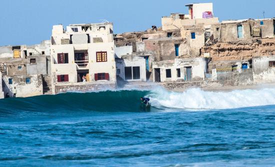 tifnit surf spot in Morocco